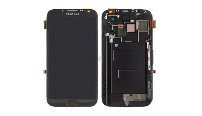 LCD + Touch screen Samsung Galaxy Note 2 N7100 - Sivi