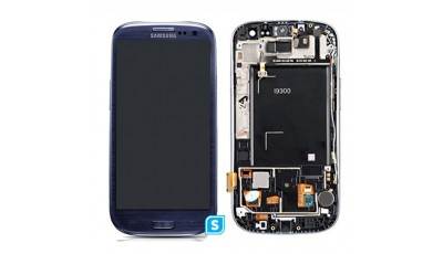 LCD + Touch screen Samsung Galaxy S3 I9300 - Plavi