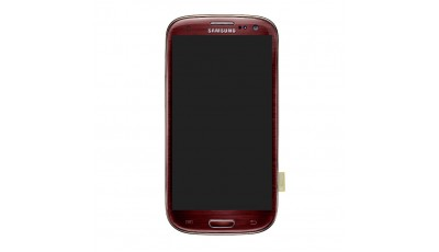 LCD + Touch screen Samsung Galaxy S3 I9300 - Crveni