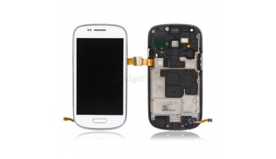 LCD + Touch screen (sa okvirom) Samsung Galaxy S3 Mini I8190 - Bijeli