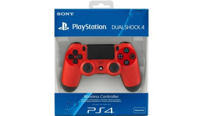 Playstation joystick wireless dualshock - Crveni