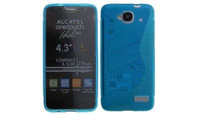 Silikonska maska Alcatel One Touch Idol S 6034 - Plava