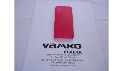 Plastična maska Iphone 5S / 5 - Crvena