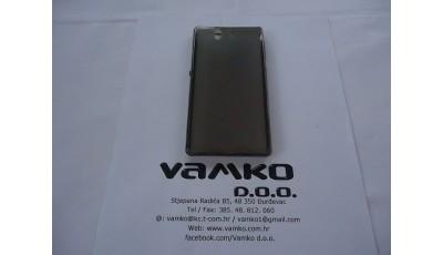 Silikonska maska Sony Xperia Z - Crna