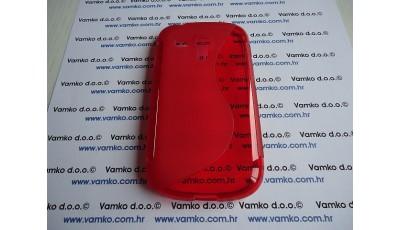 Silikonska maska S line Samsung Galaxy S3 Mini - Crvena
