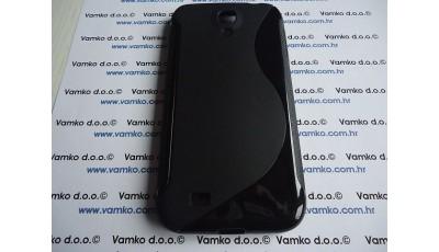 Silikonska maska S line Samsung Galaxy S4 - Crna