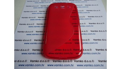 Silikonska maska S line Samsung S3 I9300 - Crvena