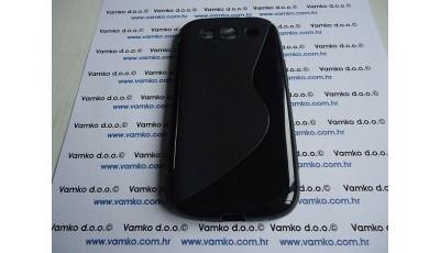 Silikonska maska S line Samsung S3 I9300 - Crna