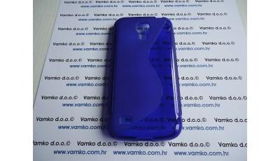 Silikonska maska S line Samsung S4 Mini I9190 - Plava