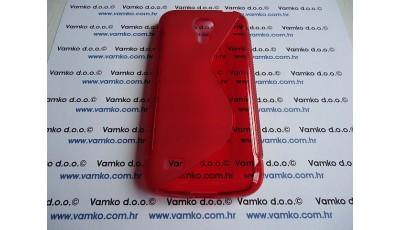 Silikonska maska S line Samsung S4 Mini I9190 - Crvena
