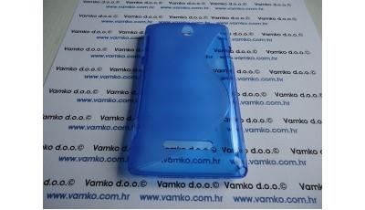 Zaštitna maska S line Sony Xperia E - Plava