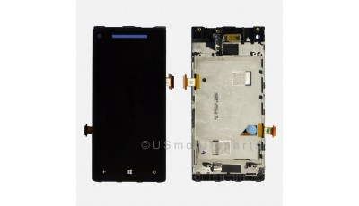 LCD + Touch screen HTC Windows phone 8S - Crno plavi