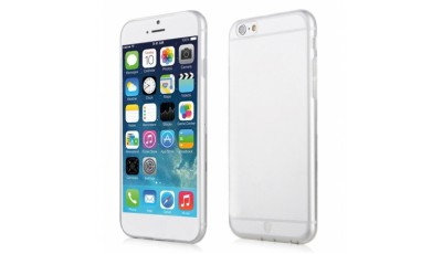 Silikonske maske Slim (Ultra tanke) Iphone 6 - Bijela prozirna (Transparent)