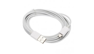Micro USB data kabel 3 metra - Bijeli