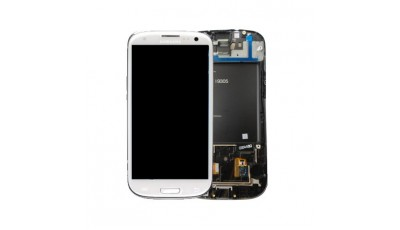 LCD + Touch screen Samsung Galaxy S3 I9300 - Bijeli